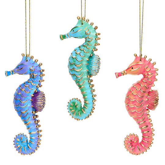 Resin Sea Kingdom Seahorse 10cm SOLD OUT