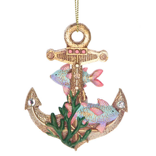 Resin Sea Kingdom Anchor 8cm