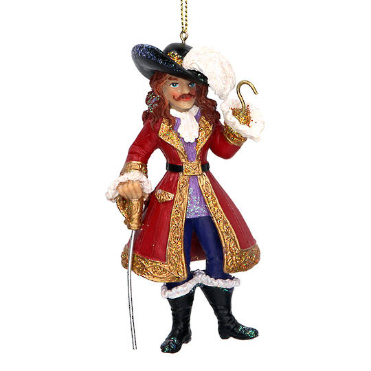 Resin Captain Hook 12cm