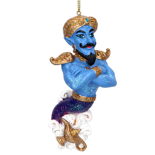 Resin Genie with Lamp 11cm