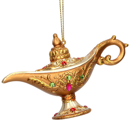 Resin Aladdin's Lamp 11cm