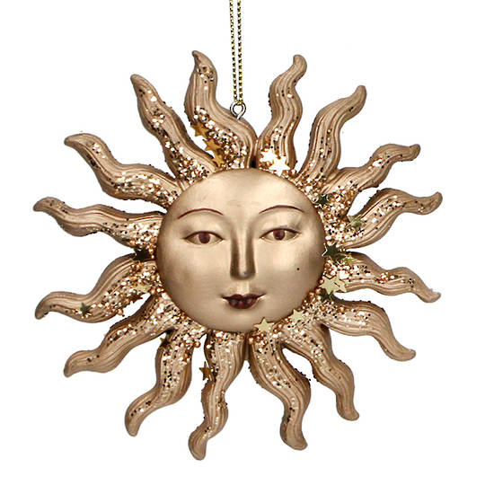 Resin Sun Face 10cm SOLD OUT