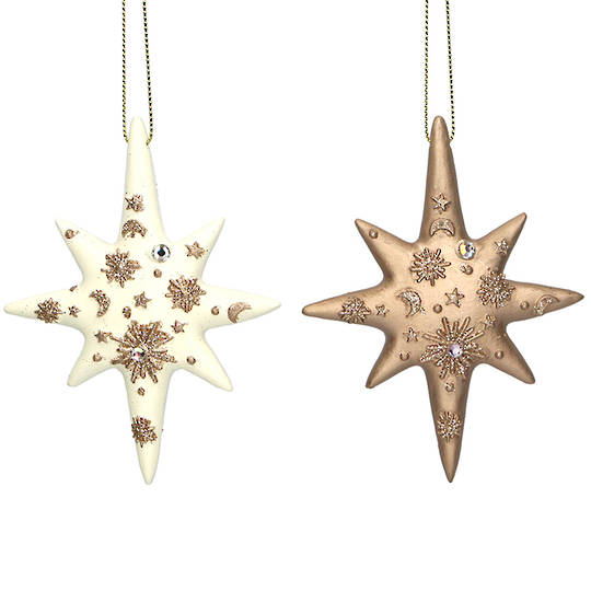 Resin Diamante Star 10cm