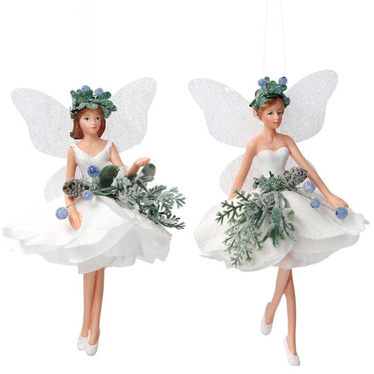 Resin Eucalyptus Fairy, 14cm SOLD OUT