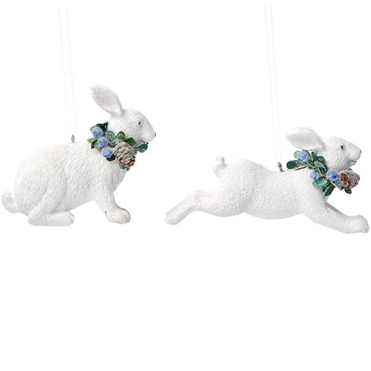 Resin Eucalytus Rabbit 6cm SOLD OUT
