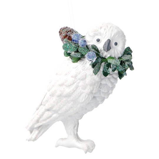 Resin Eucalytus Owl 6cm