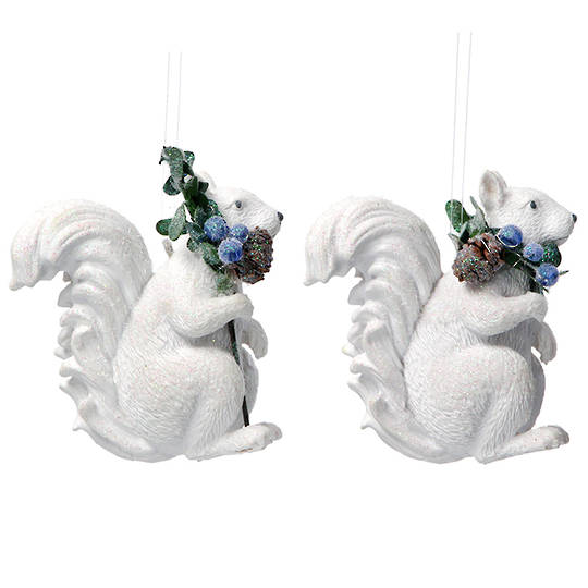 Resin Eucalytus Squirrel 6cm