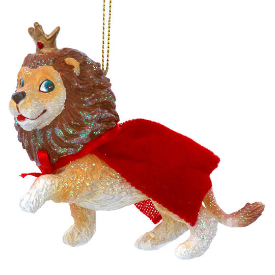 Resin Lion with Cape 10cm