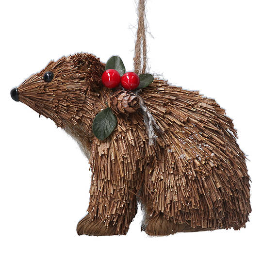 Bristle Brown Bear 9cm
