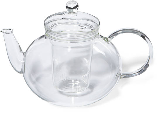 Glass Teapot 1.2ltr with Glass Filter