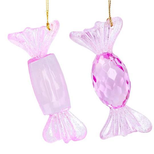 Acrylic Pink Sweets 10cm