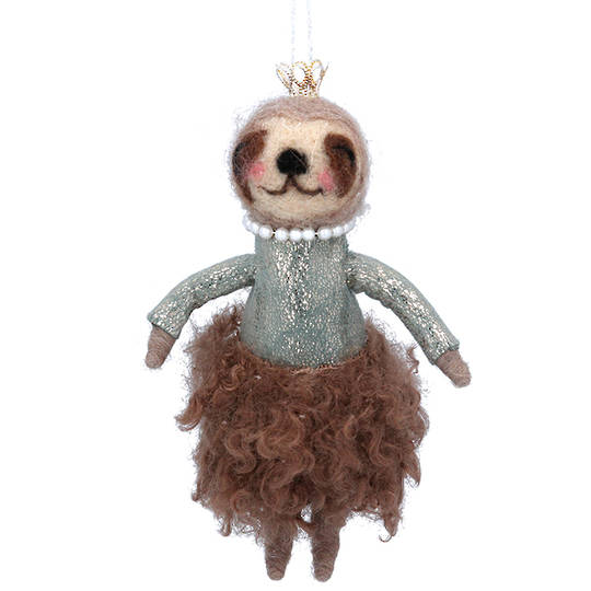 Wool Pretty Sloth 15cm SOLD OUT