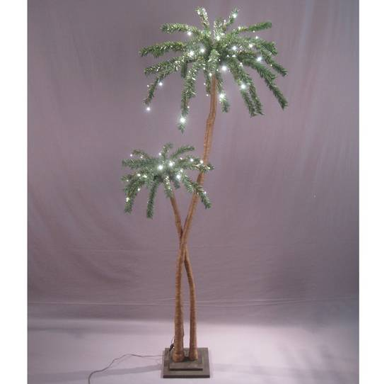 Coconut Palm Tree 1.8mtrs, 96 LED Lights