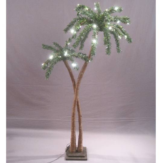 Coconut Palm Tree 1.2mtr with 48 LED Lights