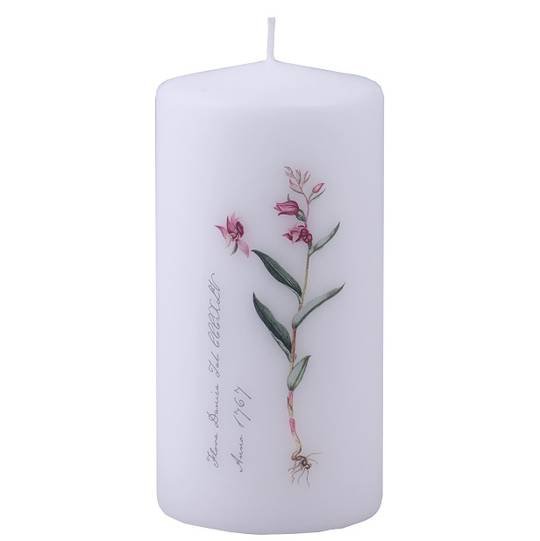 Flora Danica Pillar Candle, Forest Lilly