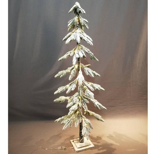Snowy Fir Tree 1.5mtr, 52 LED Lights