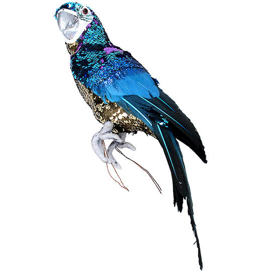 Party Blue Macaw 40cm