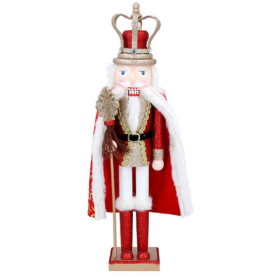 Wood Nutcracker, King 46cm