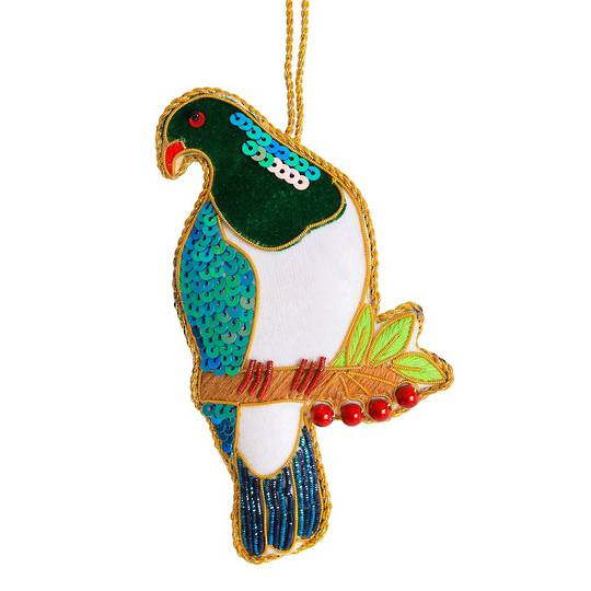 Hanging NZ Bird, Wood Pigeon / Kereru SOLD OUT
