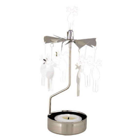 Rotary Candle Holder Moose