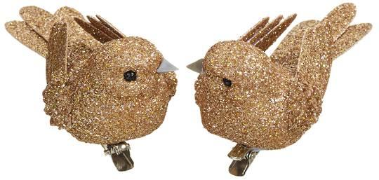 BirdClip Copper Glitter 10cm