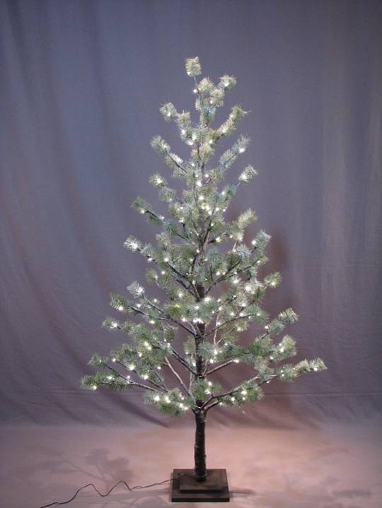 Icey Pine Tree 1.8mtr with 186 LED Lights SOLD OUT