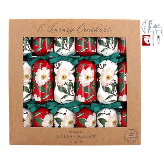 Christmas Crackers, Xmas Rose, Box 6