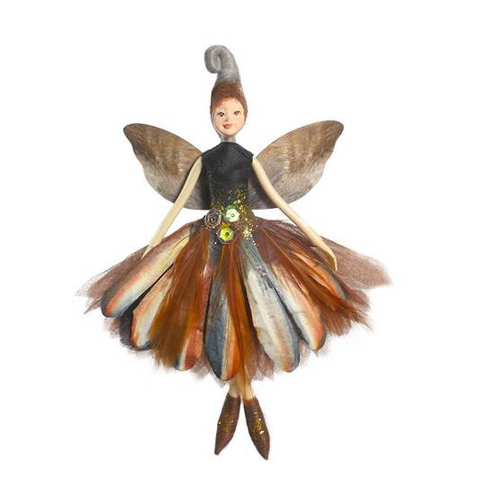 NZ Fairy, Natural Fantail 13cm