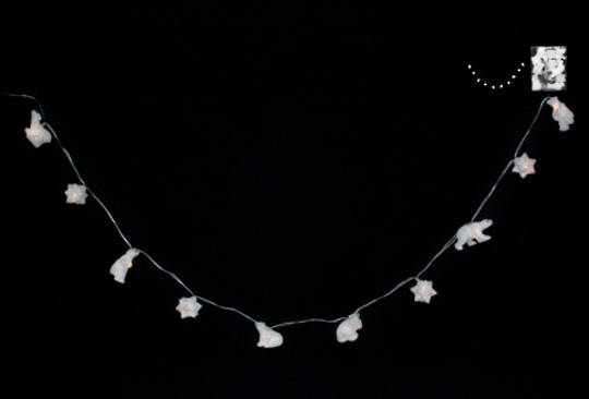 Polar Bear and Snowflake LED Lights 1.8 mtr