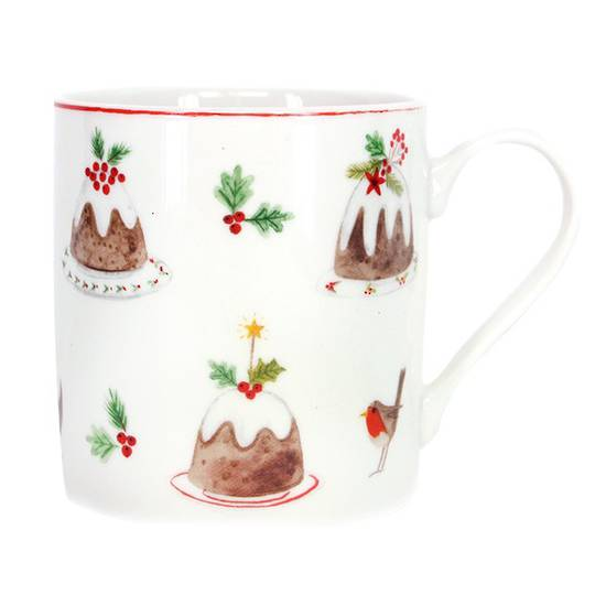 Plum Pudding Mug 350ml