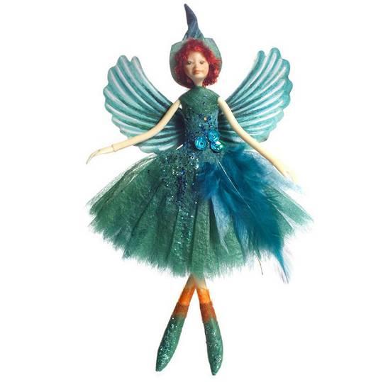 NZ Fairy, Kingfisher / Kotare 13cm