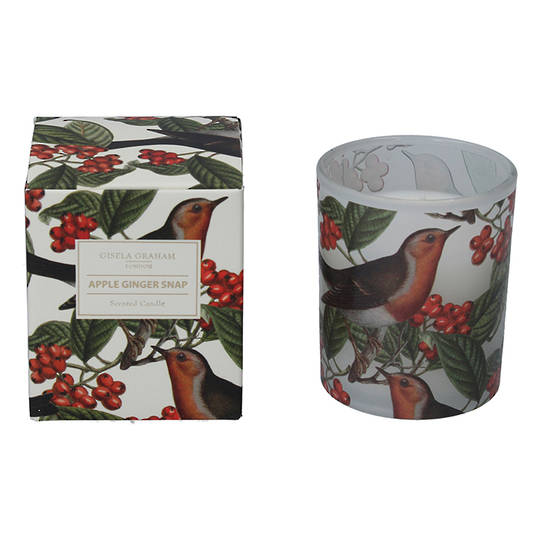 Robin and Berry, Candle Jar 8cm