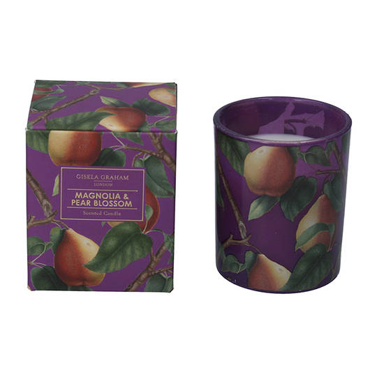 Purple Pear, Candle Jar 8cm