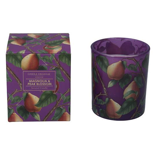 Purple Pear, Candle Jar 10cm