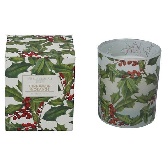 Holly, Candle Jar 10cm