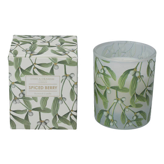 Mistletoe, Candle Jar 10cm