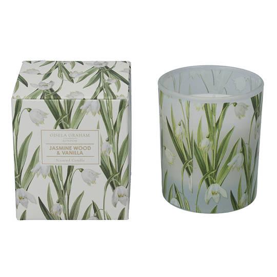 Snowdrop, Candle Jar 10cm