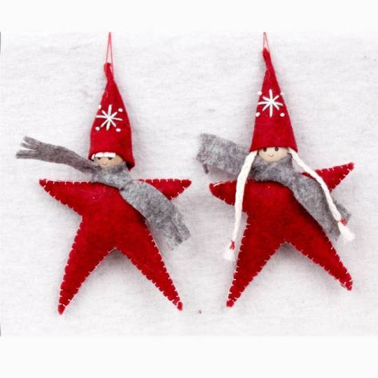 Plush Hanging Star People