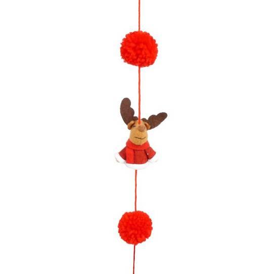 Rudi the Reindeer Garland 1.6mtr
