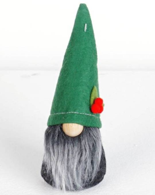 Alpine Green Hat Black Gnome