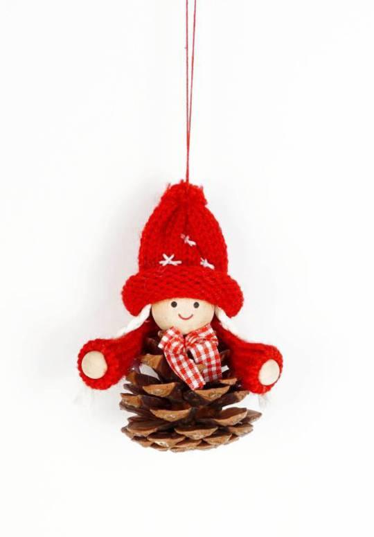 Scandi Pincone Child with Knit Hat