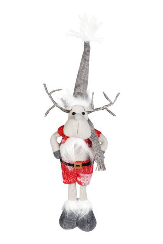 Plush Mr Santa Elk