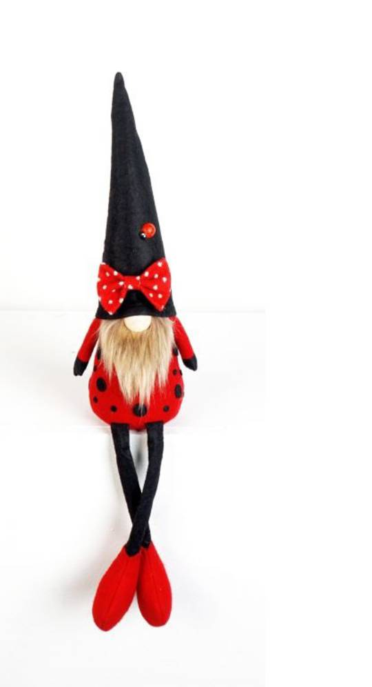 Plush Gnome LadyBird