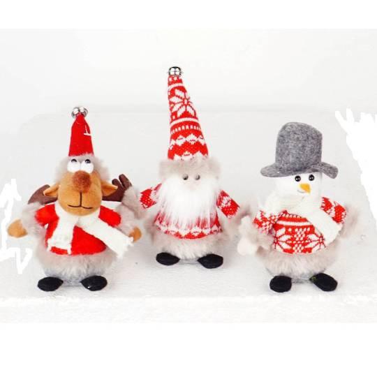 Plush Christmas Mini Characters