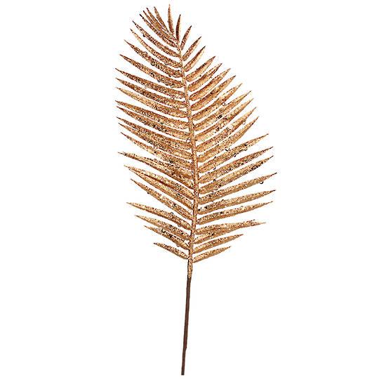 Gold Palm Leaf Spray 71cm