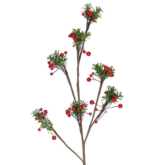Twig and Red Berry Spray 78cm