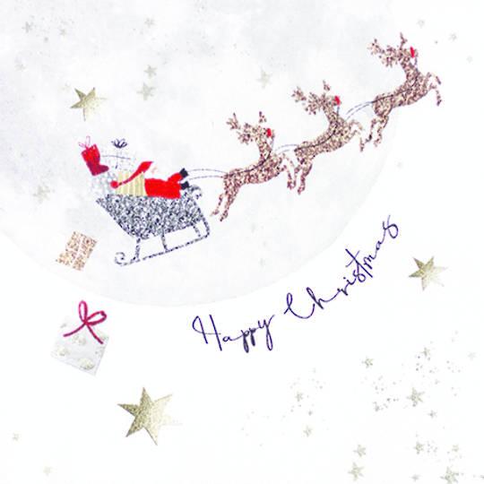 Paper Napkins 33cm, Santa's Ride