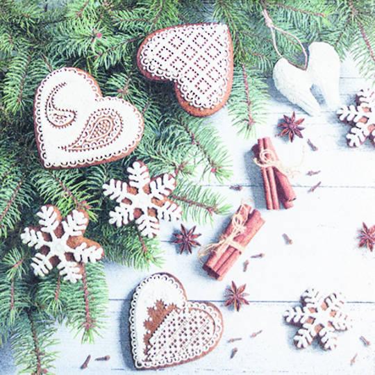 Paper Napkins 33cm, Sweet Hearts