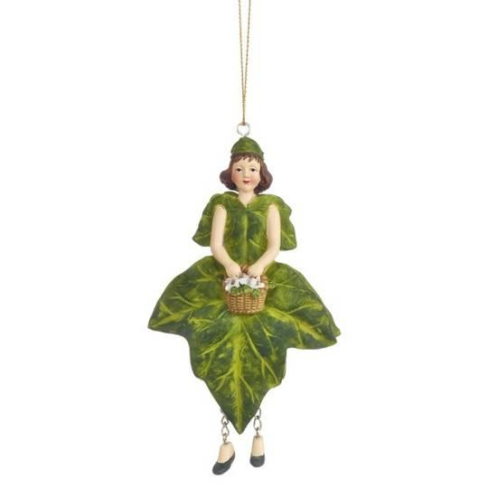 Flower Girl Ivy Green 13cm