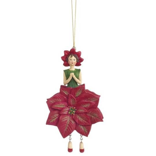 Flower Girl Poinsettia Red 12cm